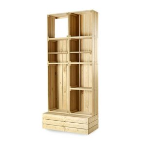 CrateWall Double Retail Wall Display - Tall