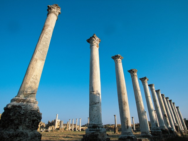 Famagusta Salamis Ruins