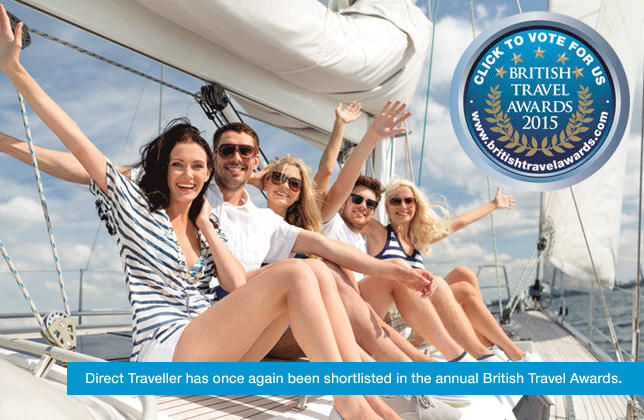 Shortlisted in the 2015 British Travel Awards 2