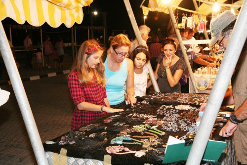 Local Markets in Kyrenia Harbour - North Cyprus shopping