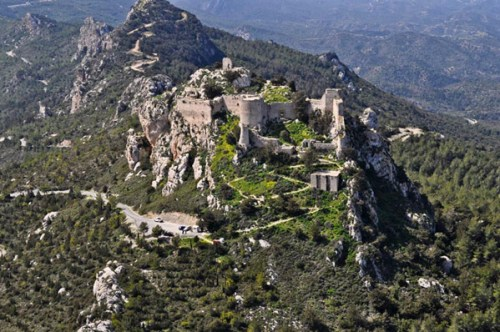Kantara Castle in North Cyprus