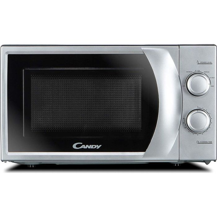 candy cmw2070s new mechanical solo microwave oven dial control 700w 20l silver