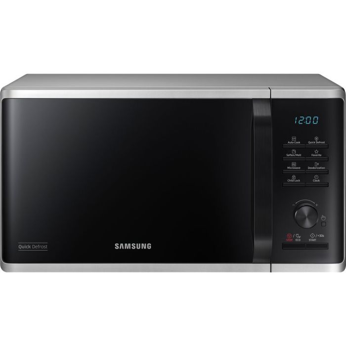 samsung ms23k3515as new solo 23l 800w digital microwave oven with enamel coating