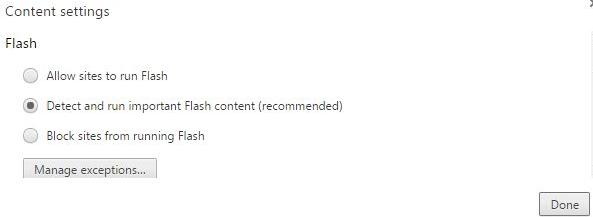 Flashplayer Allow