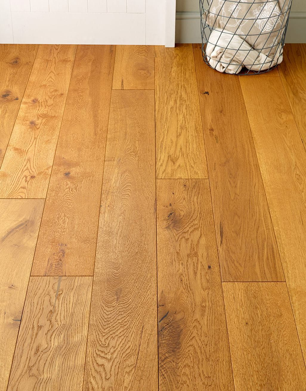old country antique golden oak brushed oiled engineered wood flooring