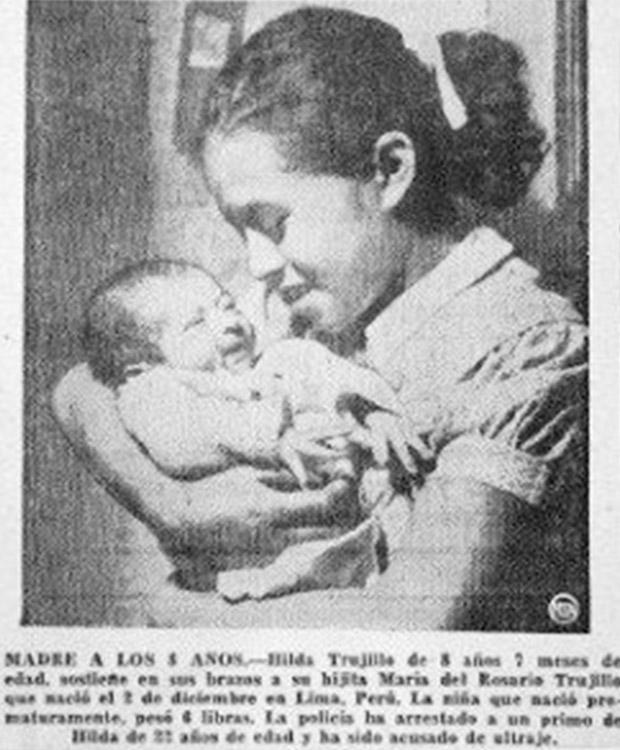 lina medina gravidanza parto 5 anni