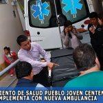 Centro de Salud Pueblo Joven Centenario, se implementa con nueva ambulancia para un mejor servicio de la población de Abancay