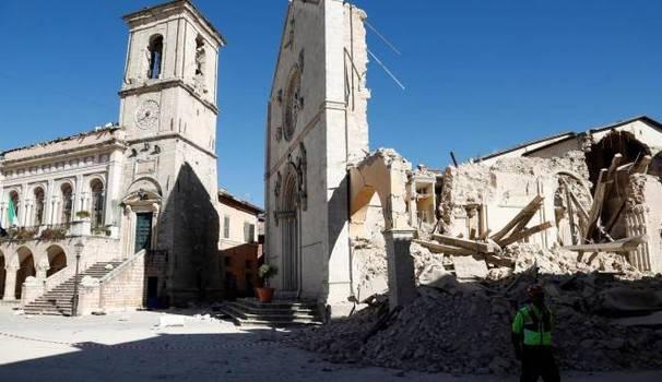 Terremoto, un'altra scossa a Norcia