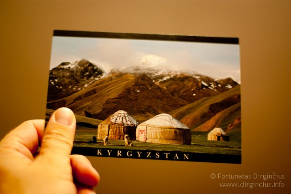 Kirgizstanas mano rankose