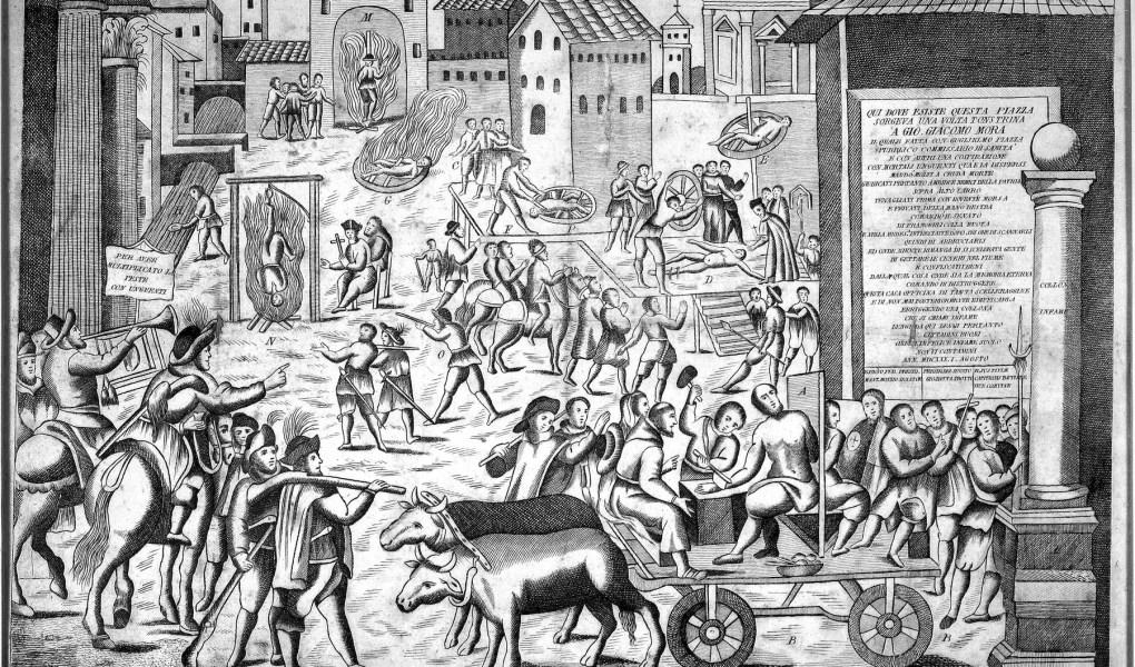 La processione contro la peste