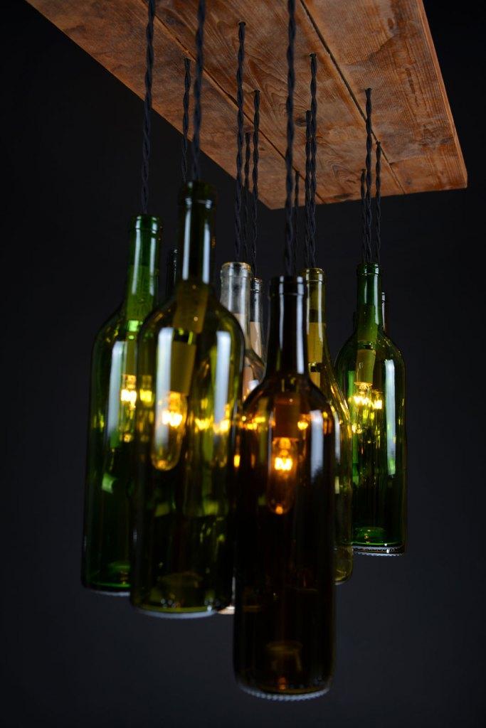 Wine Bottle Chandelier Dirk Nykamp Design – Bottle Chandelier