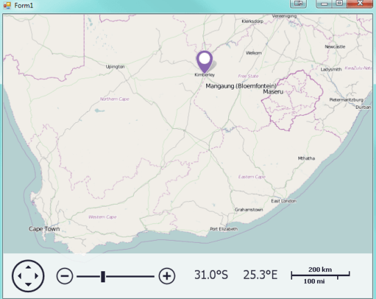 OpenStreetMap Control South Africa