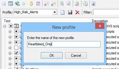 Acunetix Profiles