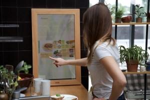DIRROR persönliche Beikoch, smart home küche