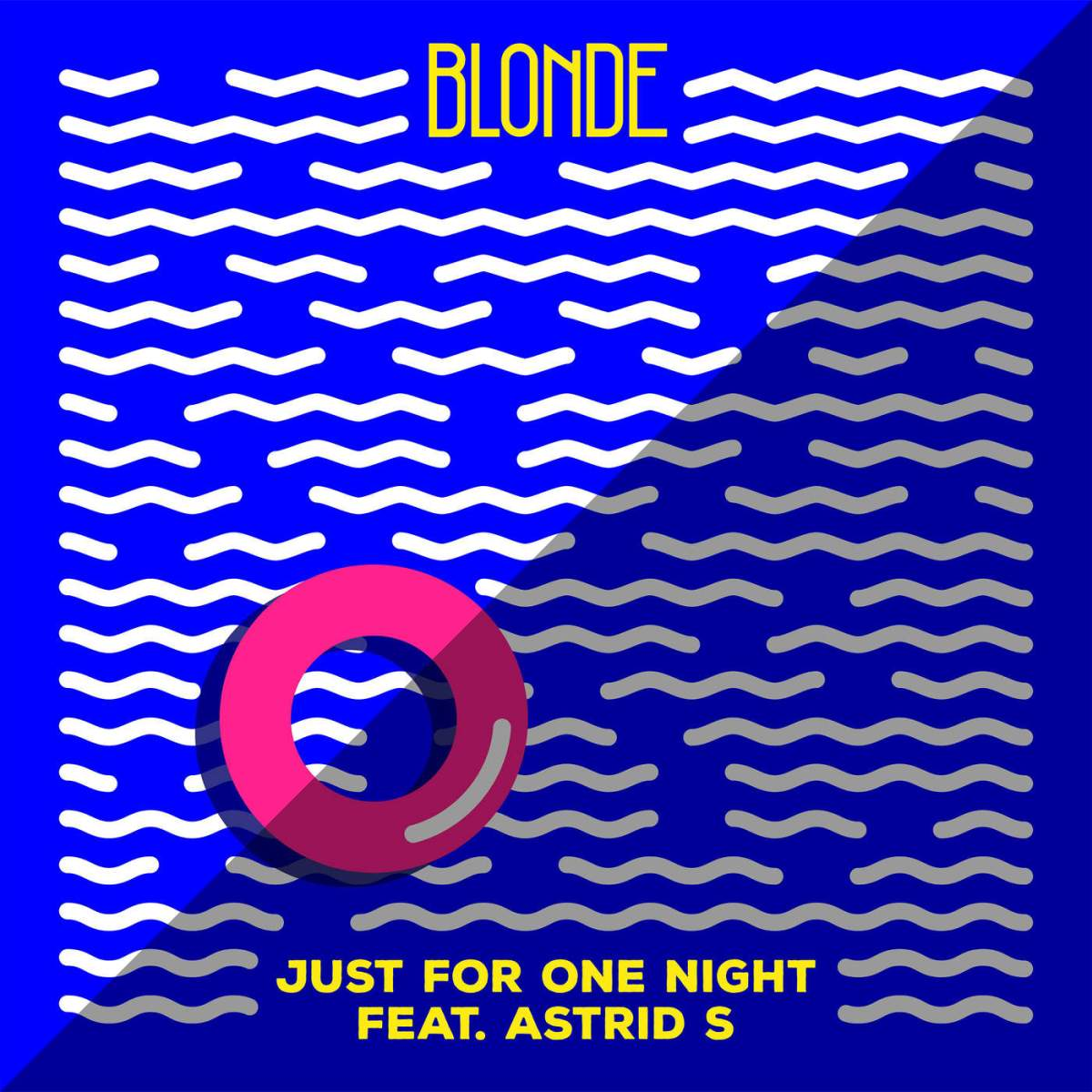 Blonde just for one