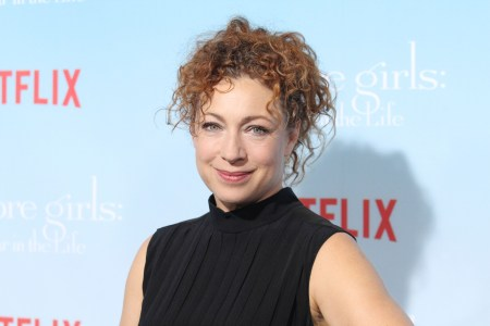 Alex Kingston'Gilmore Girls: A Year in the Life' TV Series Premiere, Arrivals, Los Angeles, USA - 18 Nov 2016