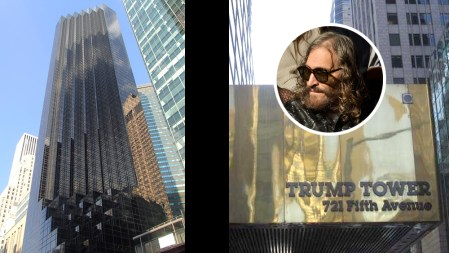 Vincent Gallo Trump Tower