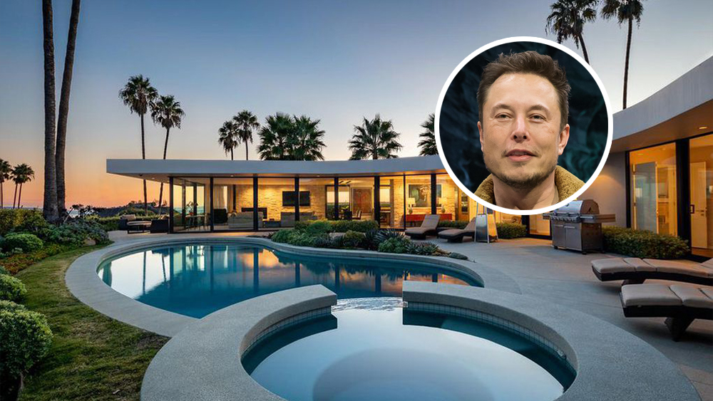 Elon Musk Sells One of Many L.A. Homes