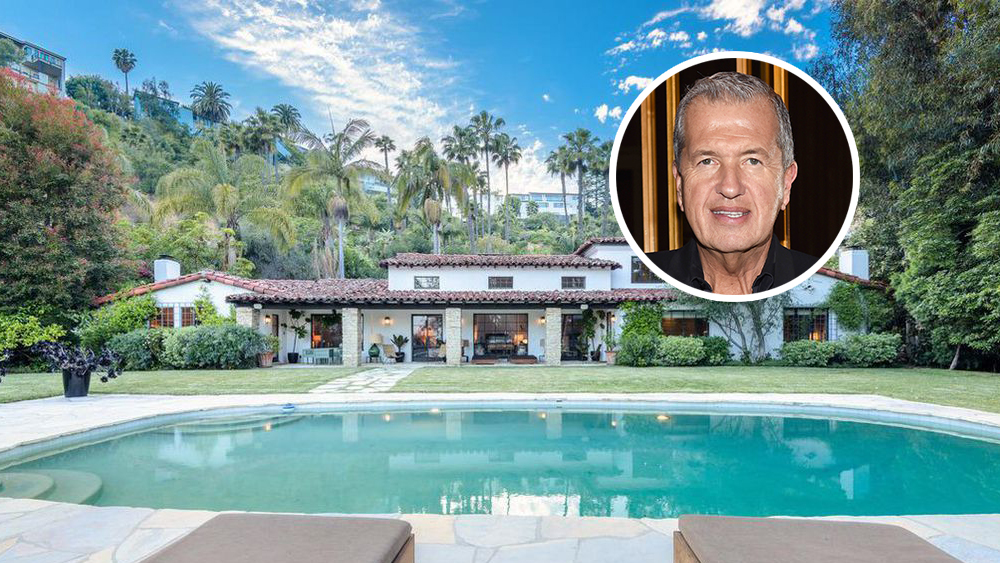 Mario Testino Zooms Out of Hollywood Hills Home