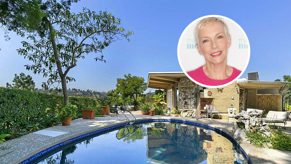 Annie Lennox Buys the House Next Door