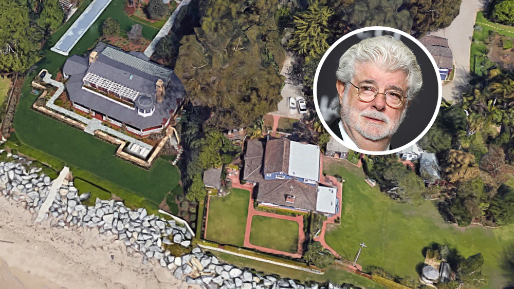 George Lucas Drops $28 Million on Beach House Next Door
