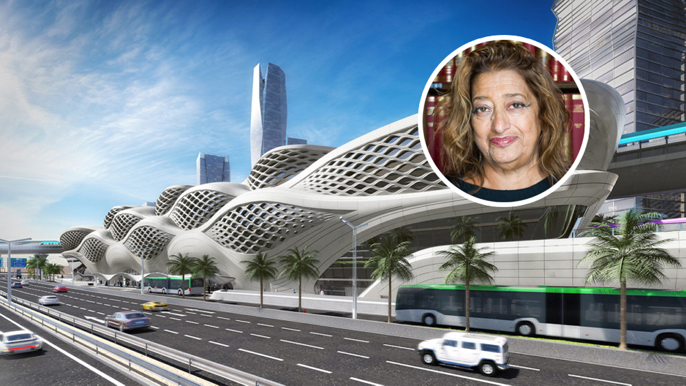 Zaha Hadid Buildings Architect