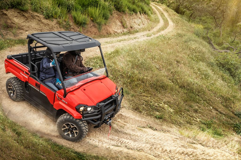 Kawasaki Mule Pro Mx Midsize Mule Model Joins