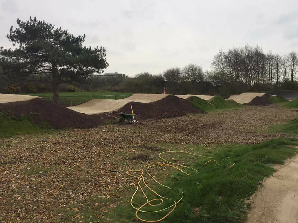 Dirtworks BMX - Bournemouth Build 5