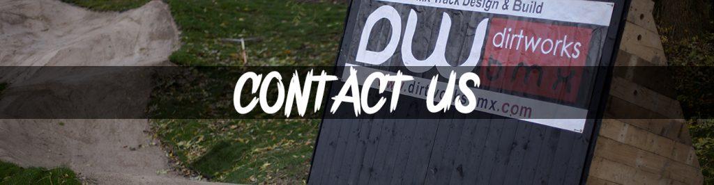 Dirtworks BMX - Contact Banner