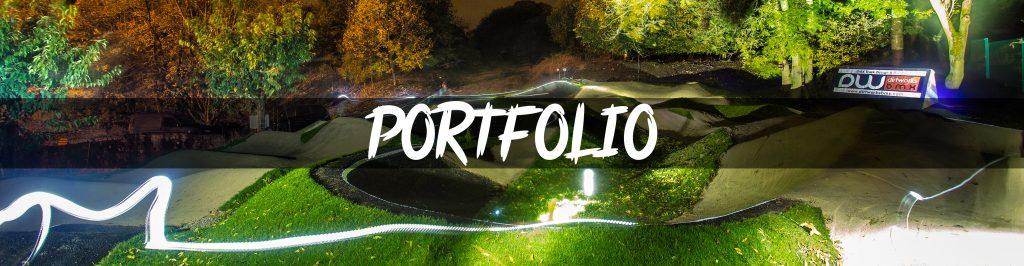 Portfolio Banner Desktop