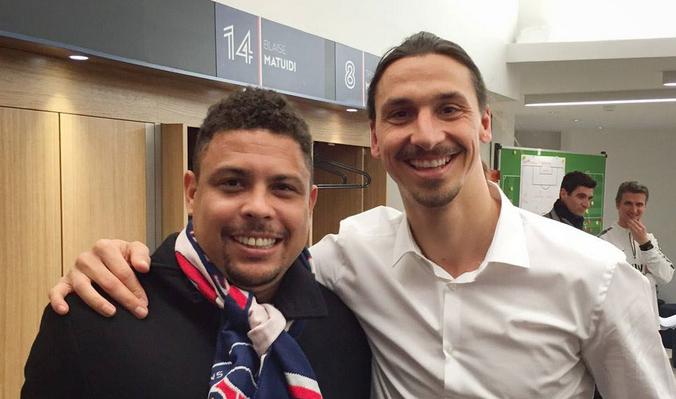 Image result for ibrahimovic and Ronaldo Il Fenomeno