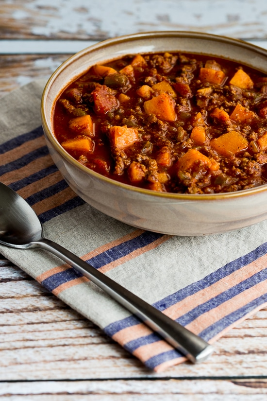 Paleo Turkey Sweet Potato Chili