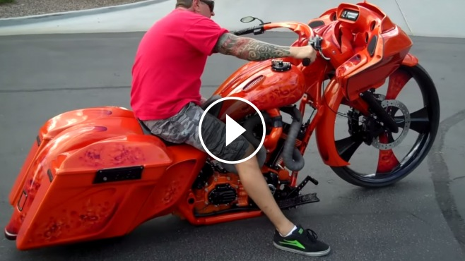 Most Badass Custom Motorcycle Ever Baddest 30 Quot Bagger By