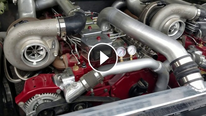 Two In One Badass Dodge Truck Features Two 12v Cummins Engine