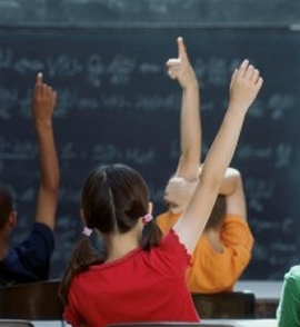 scuola bambini in classe