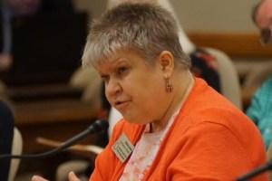 Denise Jess testifying for AB168