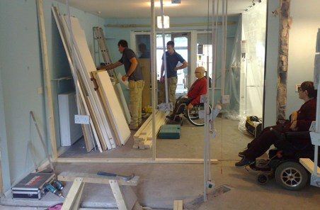 Disabled Design Tidy Work Space