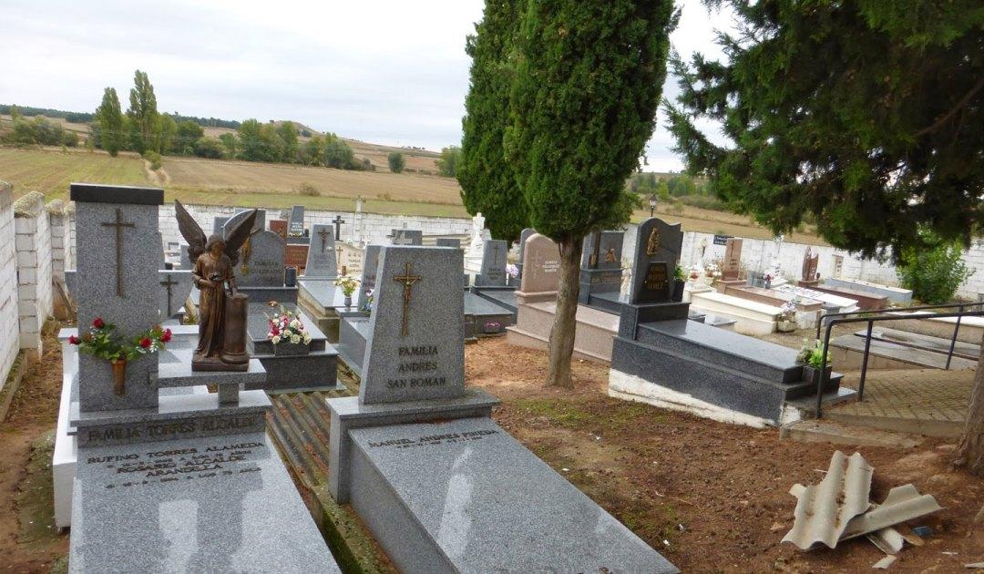 Lavoro in cimitero