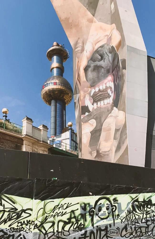 Lo Spittelau a Vienna e la street art nelle zone limitrofe