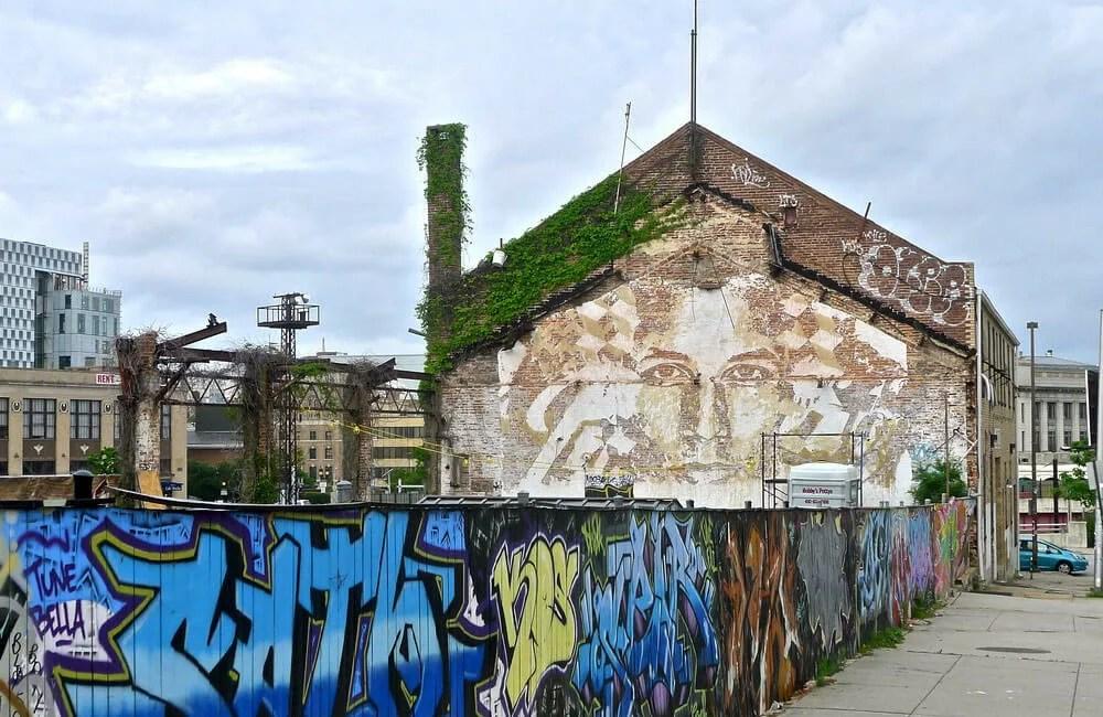 Vhils e Graffiti