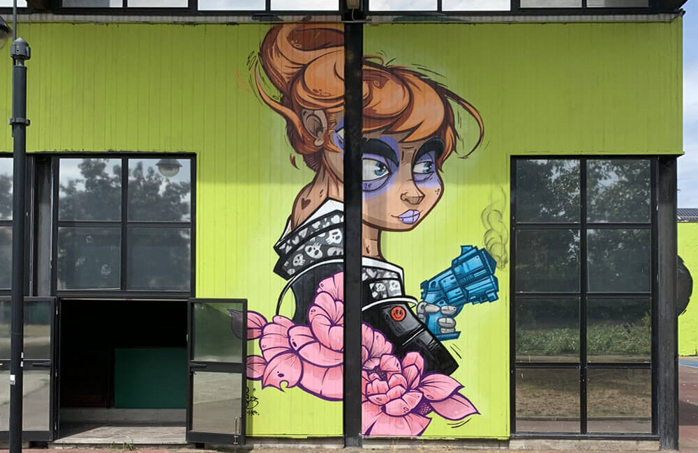 Nervi a Pezzi 2019 Nerviano Street Art