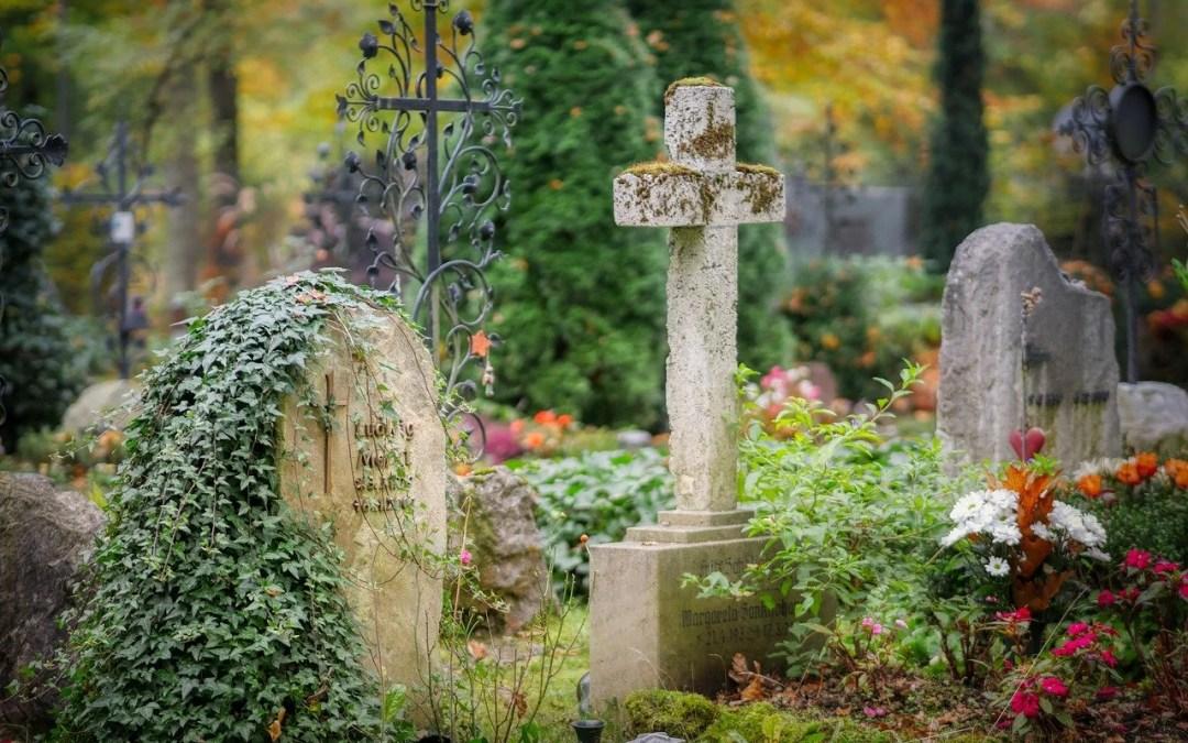 cimitero tombe