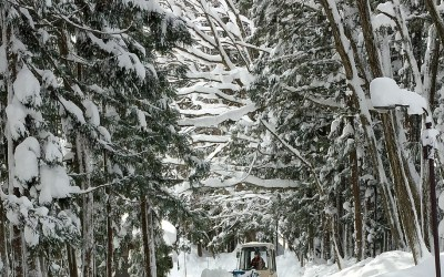 Affidamento del servizio per lo sgombero neve e trattamento antighiaccio della rete varia provinciale -Lazio