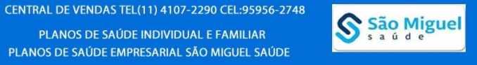 CONVENIOS MEDICOS SAO MIGUEL SAUDE