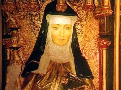 St. Hildegard of Bingen….from Pope Benedict XVI - Discerning Hearts
