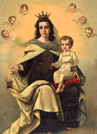 a novena to our lady of mt. carmel