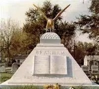 William Branham Tomb Stone - Communicate with the dead