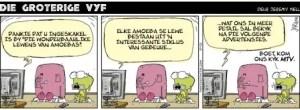 Benny Hinn Cartoon Afrikaans - Sunday Newspaper - 2010-02-27