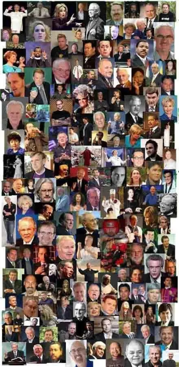 Collage of False Prophets and False Teachers ⋆ Discerning