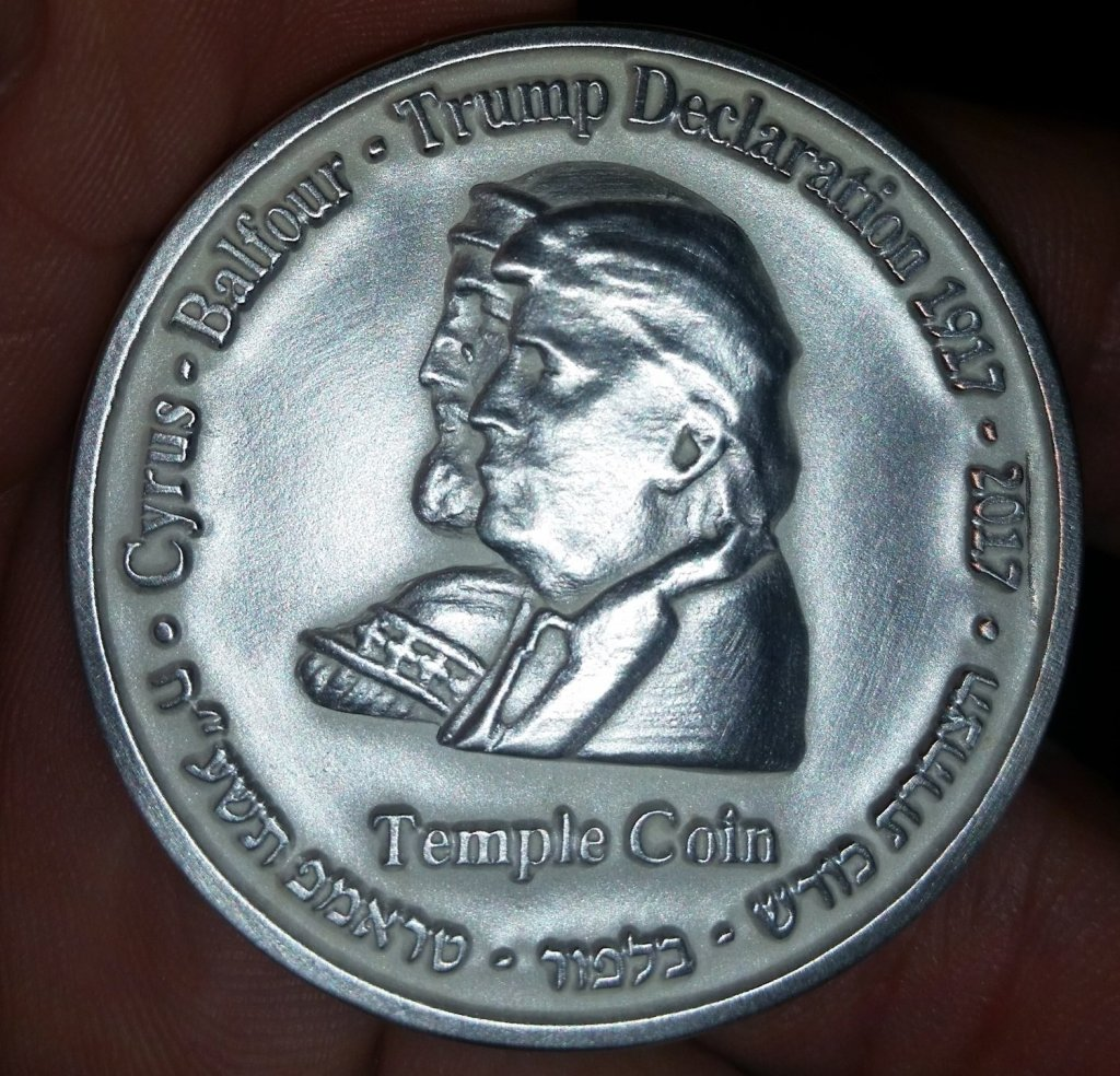 Cyrus-Trump-YTemple-Coin